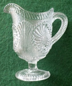 A small cream jug from Davidson's of Gateshead